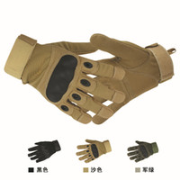 Wholesale outdoor tactical gloves for sale - Group buy Hot sale tactical gloves outdoor cover finge army gloves antiskid sports microfiber mensports gloves