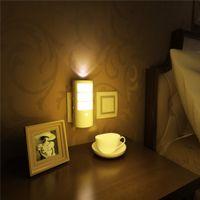 Wholesale Mult Function - Wholesale-Sunshine Led Motion Activated Night Light,Human Body Sensor Light,5-in-1 Mult-Function Wall Light, Flashlight, US Plug