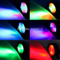 127 Led Etapa Par Lights RGB DMX512 Lighting Wash Light Sonido Activado Flash Colorido Iluminación para DJ Disco Festival Club Xmas