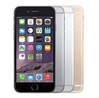 apple iphone großhandel-Original iPhone 6 entsperrt Handy 4,7 Zoll 16 GB / 64 GB / 128 GB A8 IOS 11 4G FDD Unterstützung Fingerabdruck aufgearbeitetes Telefon