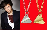 Colliers For Men Mode Feueaux Harry Styles Argent Doré Pendentif en Argent Pendentif Pendentif Pecklace One Direction Colliers For Women Gift