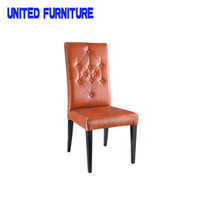 Wholesale Stainless Steel Furniture Price - New model stainless steel chair for restaurant best price dining table chair hotel furniture Audu Hotel Dining Chair