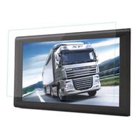 auto gps großhandel-HD 9 Zoll-Auto-Navigations-LKW GPS-Navigator-Autoauto-Navi 8GB neueste Karten WinCE 6.0 FM Bluetooth AVIN Unterstützung Multi-Sprachen