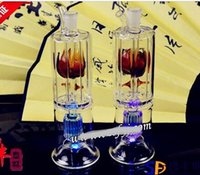 Wholesale under hookah for sale - Group buy Hookah Hookah glass clapboard flower pot heart under layer color random delivery