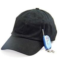 Wholesale Hd Hat Camera - HD Spy Camera Cap With MP3 Bluetooth Remote Control Hidden Cap DVR Mini DV Hat Video Recorder 5pcs lot