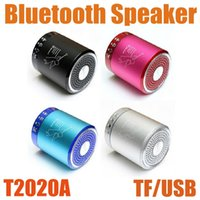 Wholesale Angels Called - Angel T2020A Wireless Speakers Bluetooth Mini Portable Speaker Support Aux Input TF Card U Dish Call Answer With Mic High Quality MIS061