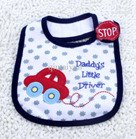 Wholesale Towels Sale Yellow Wholesale - 2013 Hot Sale Cotton Baby Bib Infant Saliva Towels Baby Waterproof Bib Cartoon Baby Wear With Different Model free shipping WY59 10p