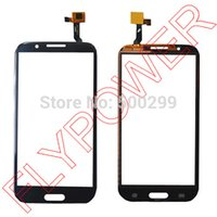 Wholesale Mtk6589 Quad Core Inch - Wholesale-100% warranty touch screen digitizer for star N9588 N9589 5.7 inch mtk6589 Quad-core smartphone by free shipping; black