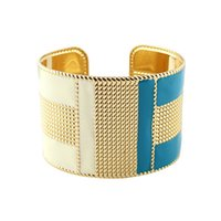 Cool Punk Rock Multicolore Émail Or Couleur Cuff Bracelets Bracelets Mode New Bijoux