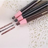 Wholesale Eyebrow Coloring - Wholesale-Free Shipping Stay authentic eyebrow pencil waterproof and ms khan lasting soft delicate easy coloring