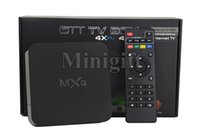 Wholesale Android Root - Original MXQ 16.1 Rooted Smart Android TV BOX Fully Loaded Full HD IPTV Live TV Channels Kids Latest Movies Sports MX Media Player