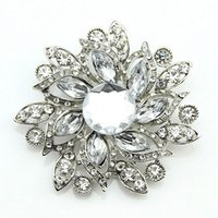 Wholesale Moon Stones Sale - Free postage 2016 new Bauhinia foreign trade fashion rhinestone brooch brooch pin hot selling acrylic glass exclusive wholesale sales