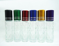 Wholesale Glass Bottles Spray Top Perfume - 2016 7ml roll on perfume bottles glass empty small perfume refillable bottle Refillable spray Bottles top quality