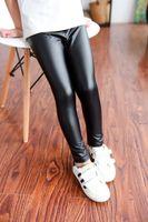 Wholesale spring new arrival korean for sale - New Arrival Childrens Korean Style Fashion Black Casual Pants Girls Skinny Leggings Pants P L