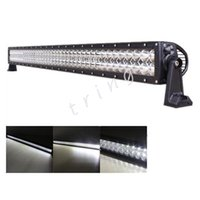 LED de travail 42inch de lumière 240W ATV Led Light Work Bar Kits EPISTAR LED Bateau jardin éclairage d'arrière-cour Kits 6000K Flood spot Combo faisceau