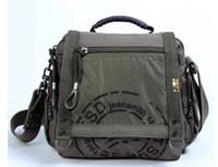 Wholesale vintage canvas backpack floral - TSD High Quality and 100% Brand New Canvas Retro Vintage Shoulder Sling Bag Messenger Bag Travel Casual Laptop SchoolCollege Backpack formen