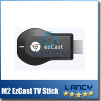 M2 EzCast TV Stick HDMI 1080P Miracast DLNA Airplay WiFi Pantalla Receptor Dongle Soporte Windows iOS Andriod V762