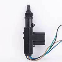 Wholesale Door Lock Wires - Universal Car Central Lock 5 Wire Single Gun Actuator Type Auto Motor Door Locking System K2477