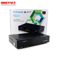 1080p Full HD Freesat V7 Max DVB-S2 receptor de TV vía satélite PowerVu Biss Key Set Top Box