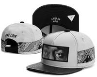 Wholesale Snapbacks Love - New Design Women Snapback Men grey black ONE LOVE Cayler & Sons Snapbacks Snap back Baseball Sports Hat Hip Hop Adjustable 1pcs TYMY 364