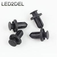 Wholesale Honda Guard - Front Rear Bumper Hood Fender Splash Guard Retainer Clips Fasteners for Honda Auto Car Bumper Cover Push Type Blind Rivet
