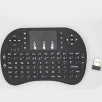 Rii I8 Fly Air Mouse Mini Tastiera Handheld Wireless 2.4GHz Touchpad Telecomando per M8S MXQ PRO Android TV BOX Mini PC