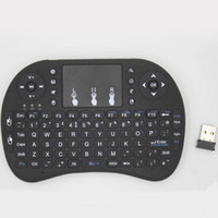 Купить Мини-беспроводная Сенсорная Панель-Rii I8 Fly Air Mouse Mini Wireless Handheld Keyboard 2.4GHz Touchpad Пульт дистанционного управления для M8S MXQ PRO Android TV BOX Mini PC