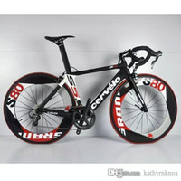 Wholesale Road Bike Carbon Ultegra - Cervelo Diy Carbon Road Full Bike Complete Bike With Ultegra 5800  R8000 Groupset 88mm full carbon wheelset A01