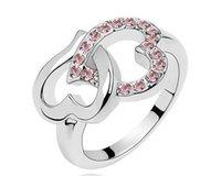 сердце кольцо корейское оптовых-Минута.заказ $ 15 (mix order)-новая корейская версия кольца