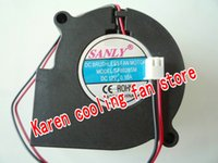 Wholesale 12v blower fan computer for sale - Original SANLY SF6028SL V A MM blower humidifier dedicated cooling fan SF6028SM