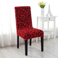 Wholesale Furniture Dining Chair - Wholesale- 2016 Stretch Removable Dining Room Office Stool Chair Cover Slipcovers