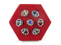 Wholesale Hitman Reborn Rings - 2014 New Hot Sale Anime Hitman Reborn Cosplay Vongola Latest Style Vongola Family Finger Ring 7Piece Sets W box Free Shipping