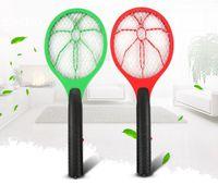 fliegt kontrolle großhandel-Schädlingsbekämpfung Handheld Moskito-Mörder Fliegenklatsche Elektrische Schädlingsbekämpfung Mückenschutz Bug Bat Insektenvernichter Für Camping Hausgarten