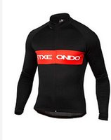 Wholesale Cycling Jerseys Only - Wholesale-Etxeondo 2015 cycling jersey Maillot ciclismo winter thermal fleece long sleeves only mtb bike men sportswear