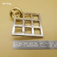Casual Intelligence Toys Classic Metal Alloy Field Lock Puzzle Ring Magic Trick Game