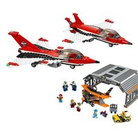 LOLTOY Lepin 02007 Airport Flight Performance Set Building Blocks Bricks Toys
