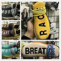 Wholesale Race Collection - Pharrell Williams Nmd Human Race Shoes Hu Trail Collection Wholesale Drop Shipping