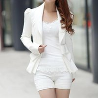 Classico Bowknot Decorato a maniche lunghe Cappotto Slim Small Suit Jacket Ladies Fodera Suit Office Normale Suit Blazer OL Carriera Top
