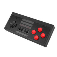 Wholesale Free Nintendo - Hot seller wireless nes game controller joystick Nintendo professional game handle nes classic red white controller joystick Free shipping