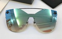Wholesale cat black elegant for sale - 2258 Eyewear Luxury Brand Sunglasses S Elegant Special Designer With Bee UV Protection Lens Top Quality Frameless Come With Case