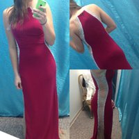 Wholesale Sext White - Sext 2016 New Design Beaded Floor Length Evening Dresses Red Carpet Prom Gowns Party Club Wear Formal Dress Jewel Vestdio De Festa WW