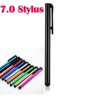 Wholesale Touch Pen For Lumia - Capactitive High Sensitive 7.0 Touch Stylus Pen Pens For Iphone 5 5S 6 6S Plus Samsung Galaxy S6 EDGE Note4 Note5 HTC Sony Lumia LG 500pcs