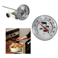 Wholesale Stainless Steel Pocket Probe Thermometer Gauge For BBQ Meat Food Kitchen Cooking Instant Read Meat Gauge