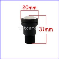 Wholesale Illumination For Cameras - HD F1.2 8mm Low Illumination Board Lens for CCTV Security Camera free shipping