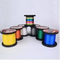Livraison gratuite 500M GREEN PE BRAID FISHING LINE 4 Strands 1pcs Top-Grade Japanese Floating Line Fishing Tackle 12lbs-130lbs