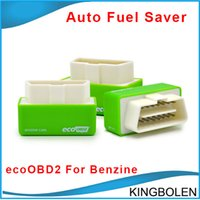 Wholesale Ecu Tuning For Car - Newly EcoOBD2 Benzine Car Chip Tuning Box Plug and Drive OBD2 Chip Tuning Box Lower Fuel and Lower Emission Auto fuel saver for Gasoline car