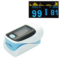 Wholesale New Arrival OLED Digital Finger Oximeter Blood Oximetro Pulse Rate Heart Rate Monitor SPO2 PR Fingertip Pulse Oximeter