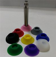 Wholesale Ego Silicone Sucker Holder - Silicone Base Holder Ego Vape Battery Display Stands Atomizer Sucker Colorful For Holding E Cigarette Clearomizers Fit Evod Vision Batteries