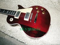 Wholesale Electric Guitar Wine Red - Best Selling Wine Red Standard Electric Guitar Wholesale Guitars From China HOT