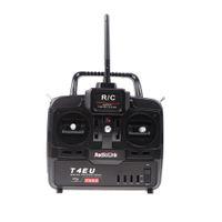 Wholesale Radiolink Transmitter - New RadioLink T4EU-6 2.4G 6CH Radio Control System Transmitter w  R7EH Receiver for RC Airplane Model 2